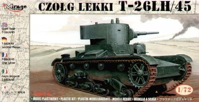 72617 - T-26LH/45 light tank 1/72
