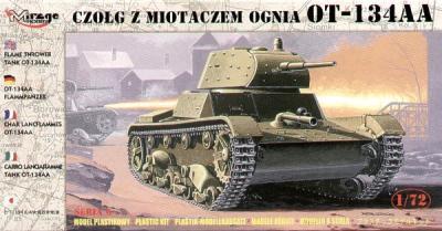 72618 - Russian OT-133AA flame thrower tank 1/72