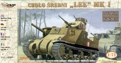 72802 - M3 Lee tank Mk.I 1/72