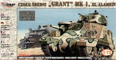 72804 - 'Grant' Mk.I 'El Alamein' 1/72