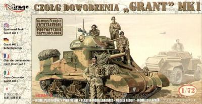72805 - Grant Mk.I command tank 1/72