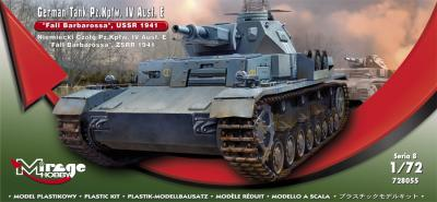 728055 - Pz.Kpfw.IV Ausf.E 'Fall Barbarossa' USSR 1941 1/72