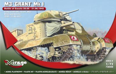 72808 - M3 GRANT Mk.I 'Battle of GAZALA' 26.05 - 21.06.1942 1/72