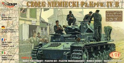 72852 - Pz.Kpfw.IVB 21st Panzer Division 1943 1/72