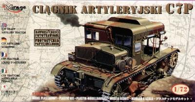72891 - C7P Heavy Artillery Tractor with etched parts 1/72
