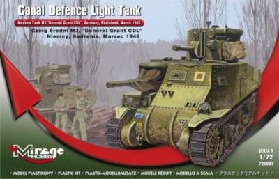 729001 - M3 'General Grant' - 'Canal Defence Light' Medium Tank, late version 1/72