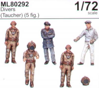 ML80292 - Divers 1/72
