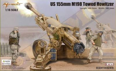 61602 - M198 155mm Towed Howitzer 1/16