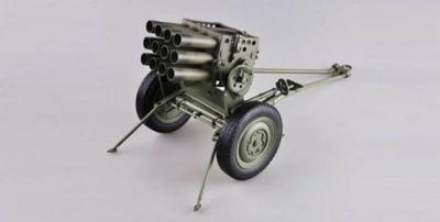 68608 - Type 63 107mm Rocket Launcher (built & painted) 1/16