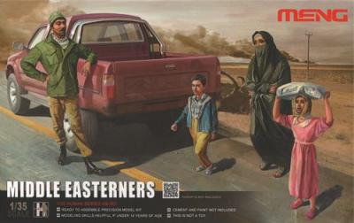 001 - Middle Easterners in the Street