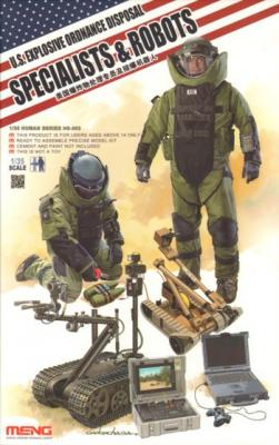 003 - U.S. Explosive Ordnance Disposal- Specialist & Robots