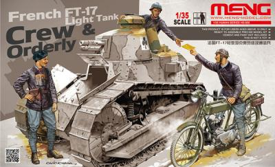 005 - French FT-17 Tank Crew and Orderly