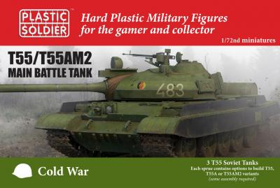 MODV20001 - Soviet T-55 Tank 1/72