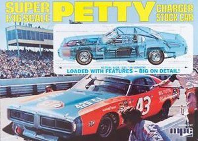 767 - '73 Dodge Charger Stock Car - Richard Petty 1/16