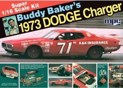 811 - Buddy Baker 1973 Dodge Charger 1/16