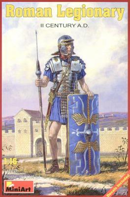 16007 - Roman Legionary II Century A.D. 1/16