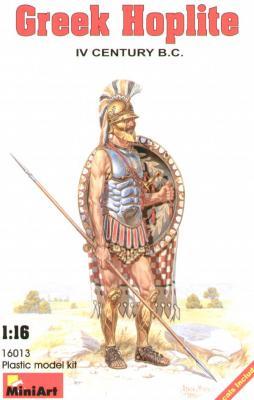 16013 - Greek Hoplite IV century B.C. 1/16