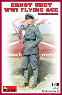 16030 - Ernst Udet. WWI Flying Ace 1/16