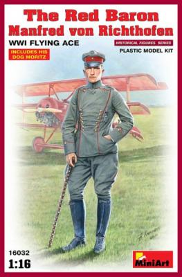 16032 - The Red Baron - Manfred von Richthofen, WWI Flying Ace 1/16