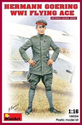 16034 - Hermann Goering WW1 Flying Ace 1/16