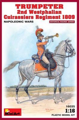 16035 - Trumpeter '2nd Westphalian Cuirassiers Regiment' 1813 1/16