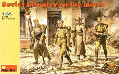 35002 - Soviet Infantry On The March WW2