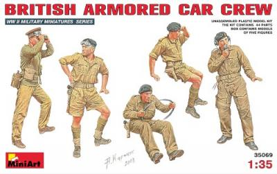 35069 - British WWII Armoured Car Crew