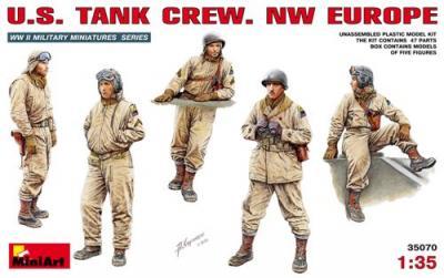 35070 - U.S. Tank Crew NW Europe WW2