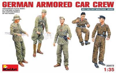 35072 - German WWII Armoured Car Crew