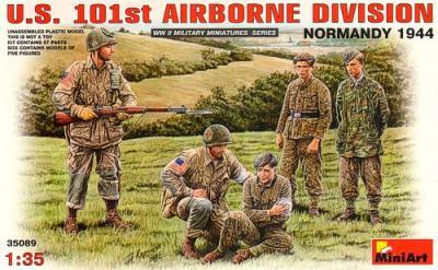 35089 - U.S. 101st Airborne Division Normandy 1944