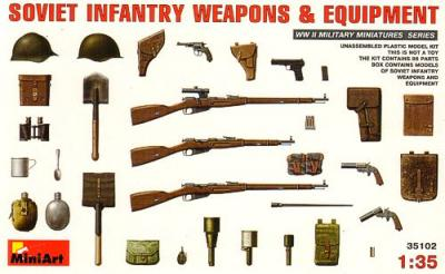 35102 - Soviet Infantry Weapons and Equipment