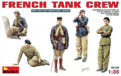 35105 - French Tank Crew