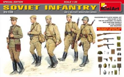 35108 - Soviet Infantry WWII Special Edition