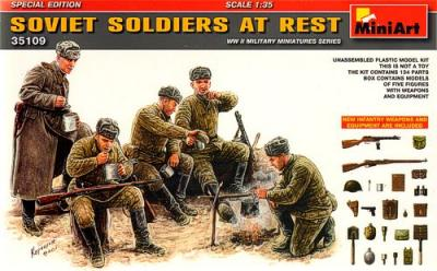 35109 - Soviet Soldiers at Rest Special Edition