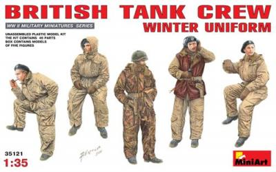 35121 - British Tank Crew Winter Uniform