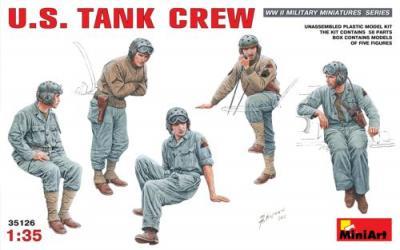 35126 - U.S. Tank Crew WWII