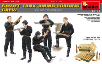 35131 - Soviet Tank Ammo-Loading Crew Set
