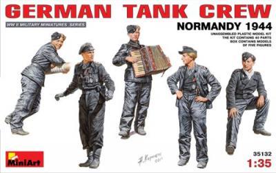 35132 - German Tank Crew Normandy 1944