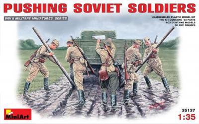 35137 - Soviet Soldiers WWII