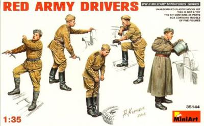 35144 - Red Army Drivers or mechanics WWII