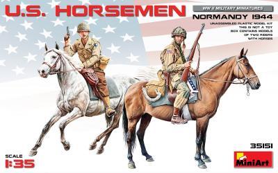 35151 - U.S. Horseman Normandy 1944