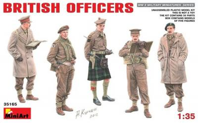35165 - British Officers