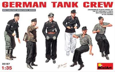 35167 - German Tank Crew WWII