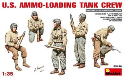 35190 - U.S. Ammo-Loading Tank Crew WWII