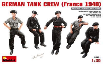 35191 - German Tank Crew France 1940