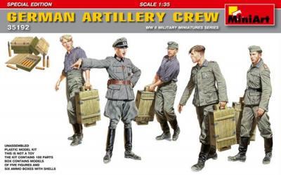35192 - German Artillery Crew Special Edition