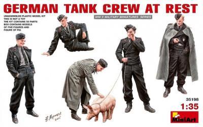 35198 - German Tank Crew At Rest