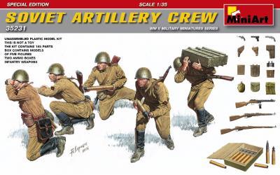 35231 - Soviet Artillery Crew WWII Special Edition
