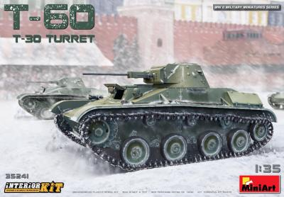 35241 - Soviet T-60 (with T-30 Turret) and interior