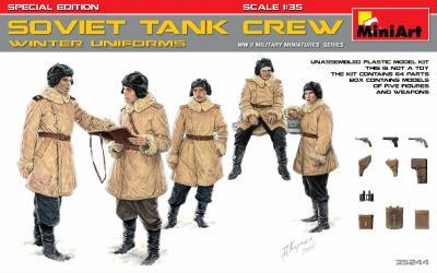 35244 - Soviet Tank Crew Winter Uniforms Special Edition